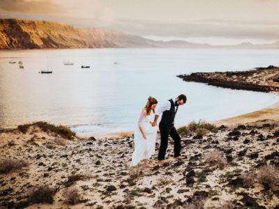 Lanzarote Bridal Portraits | Nadine + Carlos