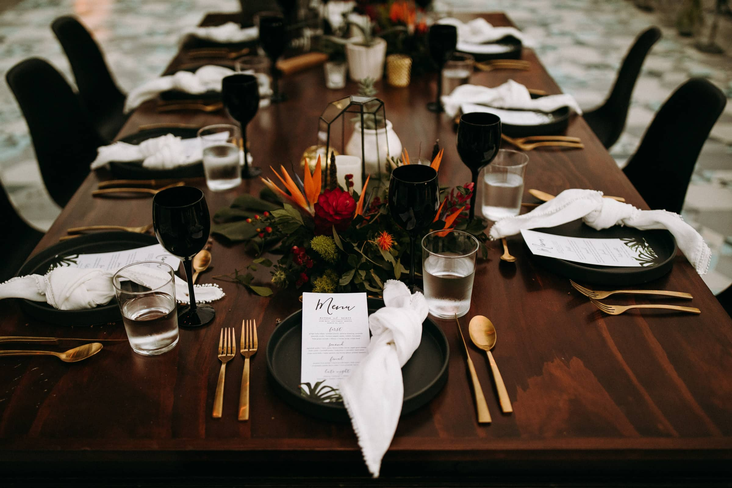 A closeup shows the acre baja table set up.