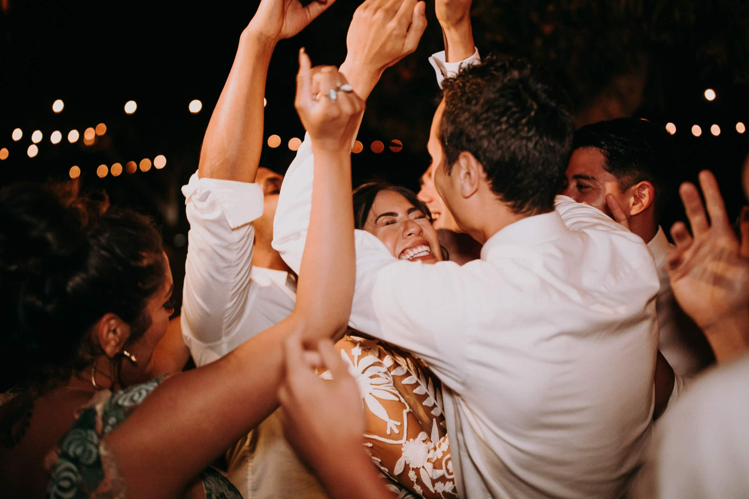 acre baja wedding party images